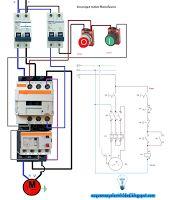 Esquemas eléctricos: Arranque motor monofásico