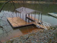 Single Boat covered Dock