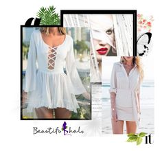 """10. Beautifulhalo"" by hetkateta ❤ liked on Polyvore featuring bhalo"