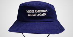 Trump Slogan Make America Great Again Bucket Hat with String Navy Bucket Hat With String, Irish Hat, Mens Bucket Hats, Types Of Hats, Slogan Making, Stylish Hats, Hats For Men, Caps Hats, Your Style