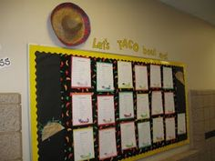 """What the Teacher Wants!: Bulletin Boards...""""Let's TACO Bout Me!"""" for simile activity"""