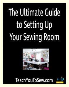 CHAPTER 3: The Ultimate Guide to Setting up your Sewing Room