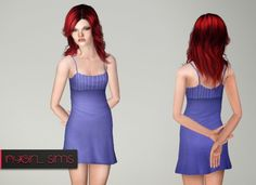 Spaghetti Sundress TF by NYGirl - Sims 3 Downloads CC Caboodle