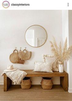 Boho Room, Boho Living Room, Home And Living, Living Room Decor, Room Ideas Bedroom, Bedroom Decor, Home And Deco, Home Decor Inspiration, Interior Design