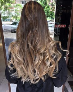 50 Impressive Blonde Balayage Hairstyles Ideas In Year 2019 - Frisuren Ombre Blond, Brown Ombre Hair, Ombre Hair Color, Balage Hair, Wavy Hair, Dyed Hair, Cabelo Ombre Hair, Balayage Hair Blonde, Balayage Hairstyle