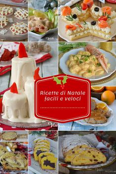 RICETTE DI NATALE FACILI E VELOCI Vale Cucina e Fantasia Antipasto, Christmas Dishes, Christmas Crafts, Plum Cake, Xmas Food, Snacks, Dolce, Buffet, Food And Drink