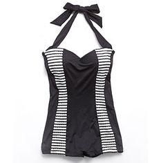 Summer's Hottest Swimsuits for 2012   Sorrento Boyleg Maillot   CoastalLiving.com