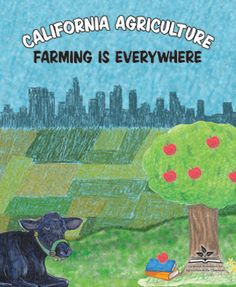 California Agriculture: Farming is Everywhere Coloring Book California Agriculture, Agriculture Farming, California History, Literacy, Coloring Books, Classroom, Kids Rugs, Teaching, Education
