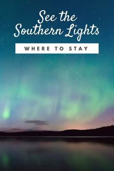 As travelers flock to Iceland, Norway, and Finland, we're giving a special shout-out to the Aurora Borealis' just-as-stunning southern counterpart. Aurora Borealis, Shout Out, Finland, Norway, Trip Advisor, Northern Lights, Southern, Vacation Rentals, Traveling
