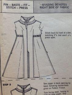 Butterick Boutique Dress 4487 Size 16