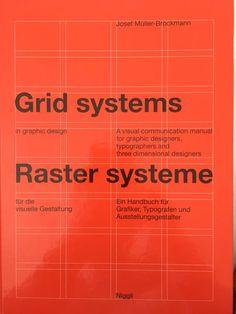 Book of the Month: Grid Systems in Graphic Design/Raster Systeme Fur Die Visuele Gestaltung (German and English Edition) by Josef Muller-Brockmann. Gfx Design, Design Blog, Tool Design, Layout Design, Design Basics, Print Layout, Web Layout, Retro Design, Editorial Design