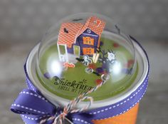 Trick Or Treat Dome by Laurie Willison for Papertrey Ink (August 2015)