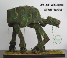 AT AT ( Star Wars) Cake - Cake by The Velvet Cakes