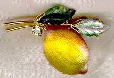 austrian fruit lemon pin