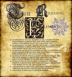 The Releasing Elements
