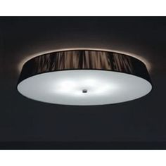 "Leucos Lilith Pl 6 Light Size: 5.5"" H x 28"" W, Finish: Red, Bulb Type: 6x40 E26"