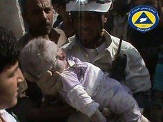 @uygaraktas: The baby and her mother were both killed by #Assad's aerial explosive barrel bombing Aleppo today.. #Syria
