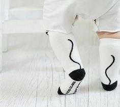3D Ear Babys Cotton Sock Infant Non-slip Leg Warmers Feet Letter Design Cat Print Sock