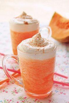 La recette: Capuccino glacé au melon. © DR