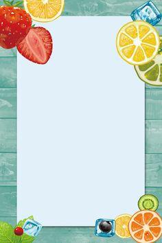 La Carte Cadre Photo Information Conception Framed Wallpaper, Graphic Wallpaper, Food Background Wallpapers, Wallpaper Backgrounds, Cake Logo Design, Menu Design, Instagram Frame Template, Fruit Logo, Fruit Shop