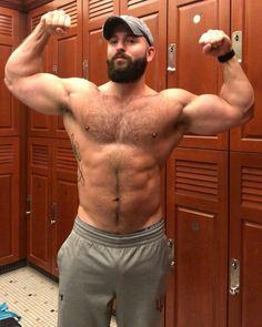 Bearded Bear Gives Head To Sexy Man