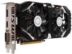 MSI GeForce GTX 1060 1544Mhz PCI-E 3.0 6144Mb 8008Mhz 192 bit DVI HDMI HDCP (GTX 1060 6GT OCV1)  — 18190 руб. —