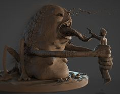 """Check out new work on my @Behance portfolio: """"""""Eat this, mutherfucker!"""""""" http://be.net/gallery/32518841/Eat-this-mutherfucker"""