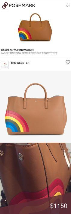 Anya Hindmarch Handbag Rare Find Anya Hindmarch Large Tote bag, Brand new with tag, $950 thru Ⓜ️ or 🅿️ Anya Hindmarch Bags Totes