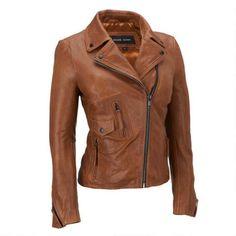 Black Rivet Asymmetrical Lamb Moto Jacket w/ Shirt Collar                 -                              Leather                 -                              Women                                           - Wilsons Leather