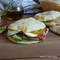 Pan Arabe, Focaccia Pizza, Antipasto, Finger Foods, Italian Recipes, Love Food, Meal Prep, Food And Drink, Meals