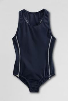 xxx Need to get torso measurement and color choice from Phyllis xxx School Uniform Y-back One Piece Swimsuit from Lands' End