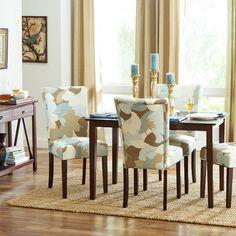 Castleton Home Floral Parsons Chair