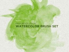 GIMP : High Resolution Watercolor Brush by ~analeewon on deviantART