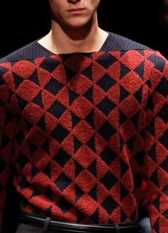 DecoriaLab   Z Zegna Fall 2013 Details Knitting Patterns ee1e9ca4186