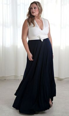 Eternity Convertible Maxi Dress (Evening Duo) $89.90 by SWAK Designs #Curvy #swakdesigns #PlusSize