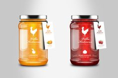 Homemade Jam on Packaging of the World - Creative Package Design Gallery