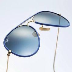 Ray-Ban Aviators Blue
