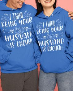 I Think Being Your Husband Is Enough Camping - Royal Blue gifts for backpacking, gifts for the outdoorsman, camping decorating ideas #campinggifts #nylonnetsponge #nylonnetscrubbies, dried orange slices, yule decorations, scandinavian christmas Camping Coffee, Yule Decorations, Camping Gifts, Orange Slices, Scandinavian Christmas, Backpacking, Hooded Sweatshirts, Royal Blue, Decorating Ideas