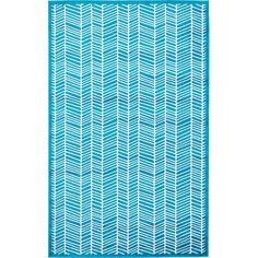 Found it at Wayfair - Sidney Turquoise Area Rug
