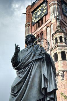 Mikołaj Kopernik, Toruń, via Flickr.
