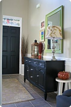 Chalk paint buffet (wouldn't let me pin the right picture...this is before)
