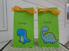 Dinosaur Birthday Party Bags