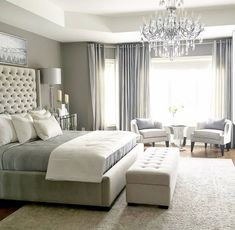 One of the reasons why you need some new master bedroom ideas is because that you might feel bored with your old bedroom design. It's understandable because the bedroom is the room where you may spend… Home Decor Bedroom, Interior Design, Master Bedrooms Decor, Bedroom Decor, Home, Small Bedroom, Home Bedroom, Remodel Bedroom, Luxurious Bedrooms