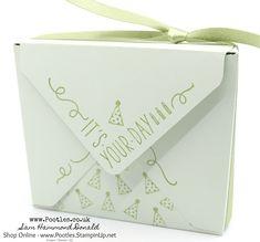 #1 Stampin' Up! Demonstrator Pootles - Around The Corner Envelope Punch Board Box