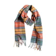Scottish Plaid Mongolian Cashmere Scarf (3.955 RUB) ❤ liked on Polyvore featuring accessories, scarves, cashmere shawl, fringe shawl, tartan cashmere scarves, evening shawls and cashmere scarves