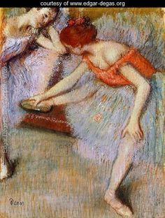 Dancers I Edgar Degas