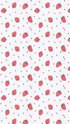 Kawaii Wallpaper Pink Backgrounds Cute Patterns Wallpapers Iphone Strawberries Vintage