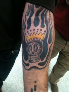 I would not mind having this on my body. Not only is it awesome, but I love St.Arnold's Santo Beer too!