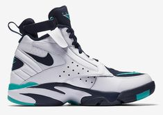 9daf7e973100 NIKE AIR MAESTRO II LTD WHITE JADE BLUE PIPPEN BASKETBALL SIZE 9  fashion   clothing  shoes  accessories  mensshoes  athleticshoes (ebay link)