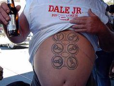Horribly awesome tattoo